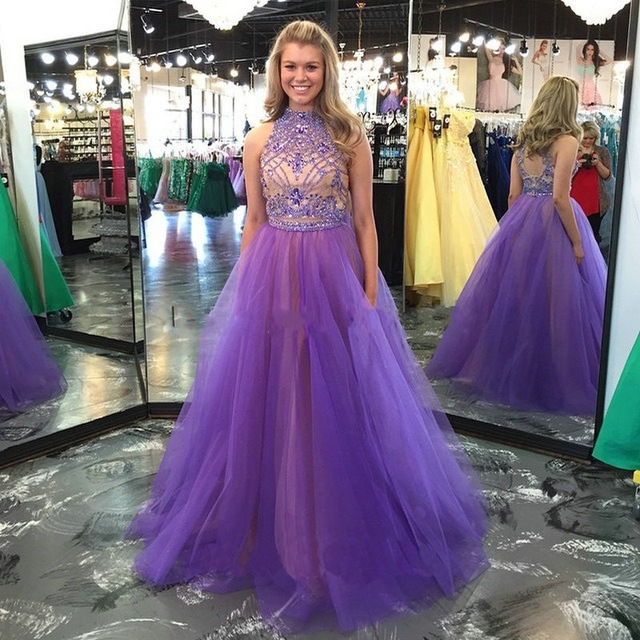 Long Prom Dresses with Straps Junior High